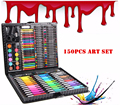 150 pz/set Bambini Colori a matita Disegno Artist Kit Pittura Art Marker penna Set Pennello Penna di Colore di Strumento di Disegno di Arte scuola