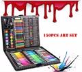 150 unid/set niños colores lápiz dibujo artista Kit pintura arte rotulador conjunto Color pluma pincel dibujo herramienta arte la escuela