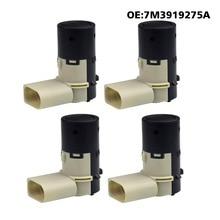 Sensor de aparcamiento PDC para coche, 4 unidades por lote, para Audi A2, A3, A4, A6, VW, Sharan, Seat, Skoda, Ford Galaxy 7M3919275A 4B0919275A