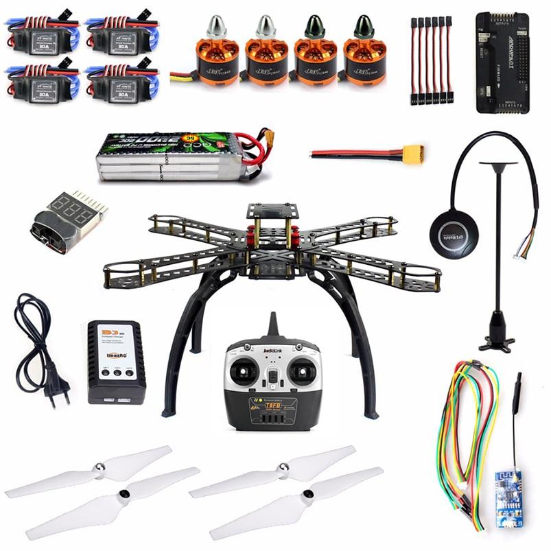 DIY Drone RTF 2 4GHz Wireless WiFi Transmission APM2 8 Flight Control M7N GPS with Brushless