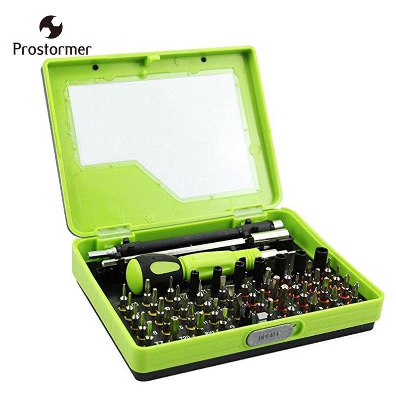 ToolTweezer Prostormer 53 em 1 Chave De Fenda Conjunto Chave De Fenda de Precisão Magnética Flexível Do Eixo Da Broca para Rc Pc PDA Mobile Car