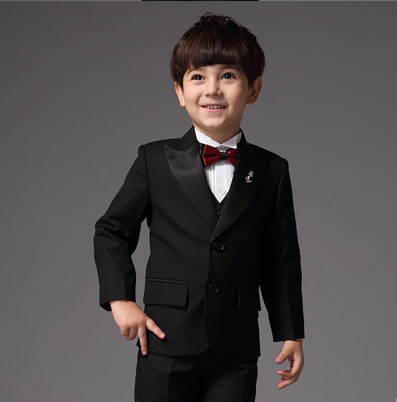 Kids Wedding Suits Boys Custom Made Smoking Casamento Evening ...