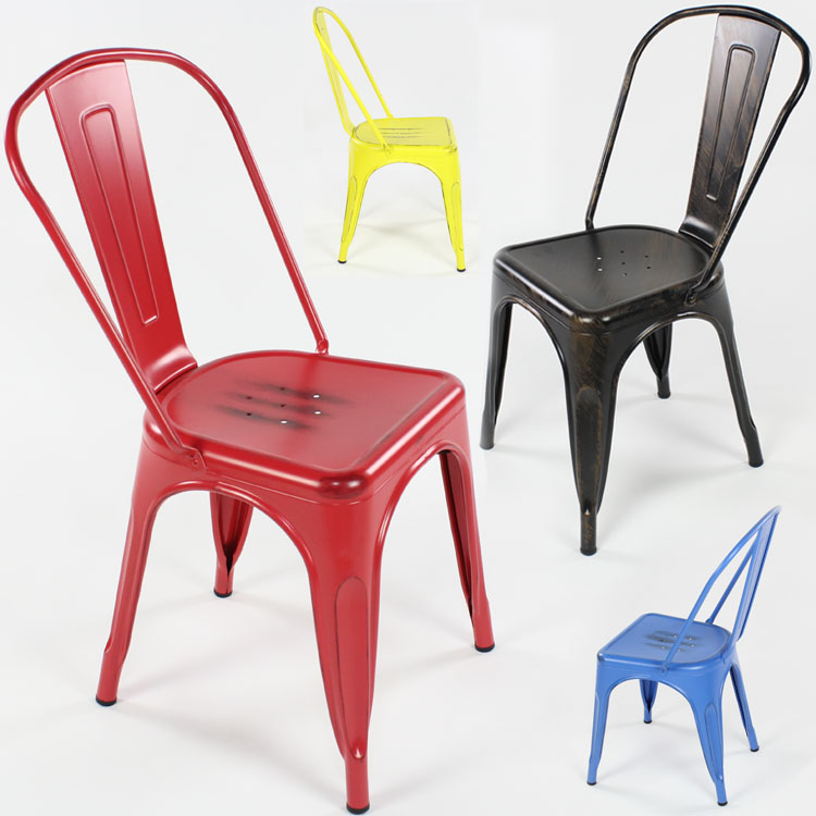 Continental Do The Old Metal Chair Fashion Casual Restaurant Chairs IKEA  Armchair Son To Do The Old Iron Leather Chair Industria On Aliexpress.com |  Alibaba ...
