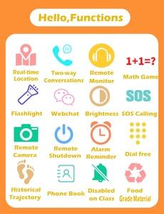 Image 4 - Reloj inteligente para niños S6 reloj para bebés SIM GPRS rastreador en tiempo Real reloj inteligente antipérdida para niños con cámara PK Q528 Q50 Q90