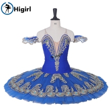 BT9163 Higil tutu  new style Girls Adult Classical Ballet Blue Pancake