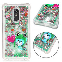 Cute Frog Dolphin Deer Pandas Phone Case For Xiaomi 5X A1 Redmi Note 5 5A 4X 4 4A Coque Soft Back Cover Shining Cases Capa P03G