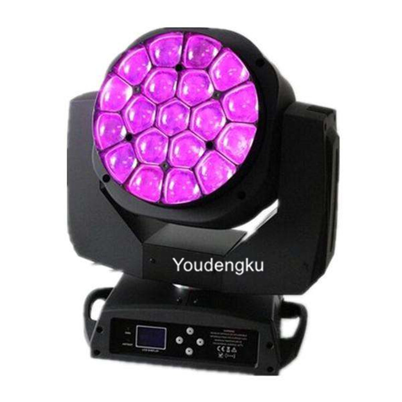 Stage Lighting Effect Novelties Led 6x15w Beam Wash Light Bee Eye Moving Head Rgbw 4in1 Led Quad Dj Light Bowling Centers Or Any Mobile Production