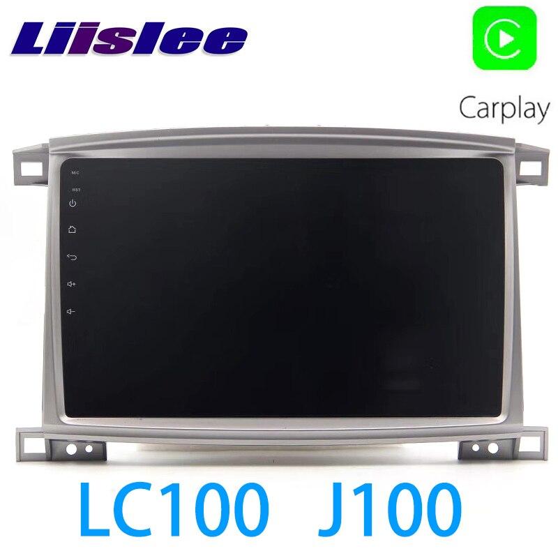 LiisLee voiture multimédia GPS Hi-Fi Audio Radio stéréo pour TOYOTA Land Cruiser LC100 J100 1998 ~ 2007 Style Original Navigation NAVI