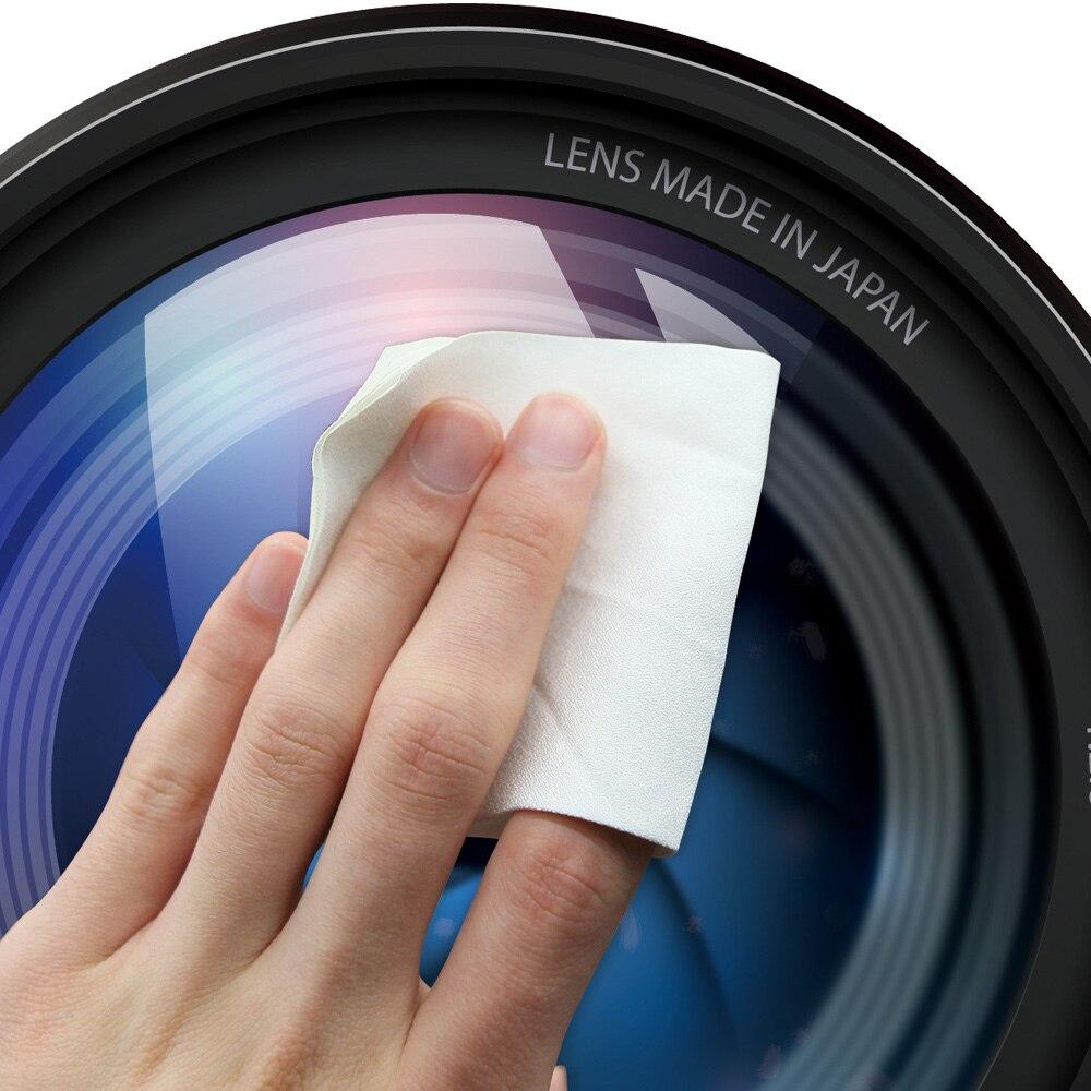 Paño de limpieza de lentes de microfibra óptica VSGO Magicfiber - Cámara y foto - foto 5