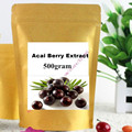 17.6 oz (500g) Orgánica Acai Berry Extract Powder 100% Crudo Súper Antioxidante