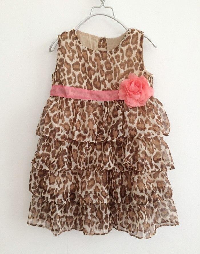 7c73ef39e Vestidos Fashion Summer 1pcs Baby Girl's Leopard Print Dress Cute  Children's Dresses Children's Clothing 2015 New Baby Clothing-in Dresses  from Mother ...