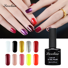 UV Gel Nail Polish Gorgeous Color Nail lucky Gel Polish Vernis Semi Permanent Top Coat Base