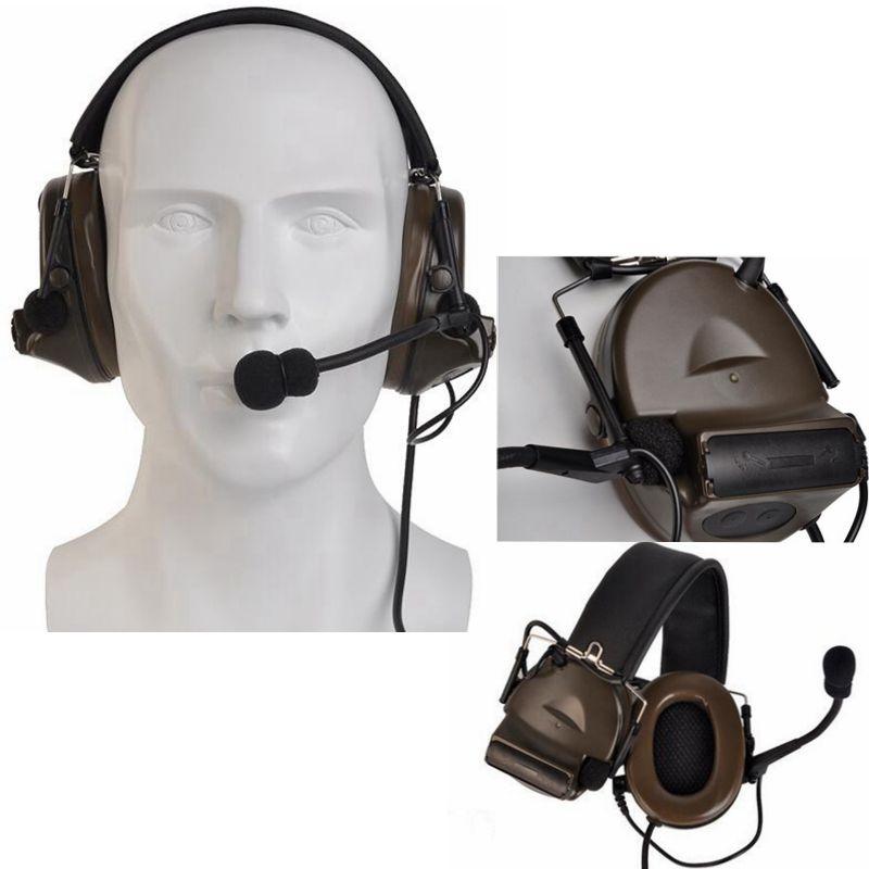 4c6b7e2f032 2019 New version Z-tac tactical comtac II peltor headphones no noise  reduction function communication