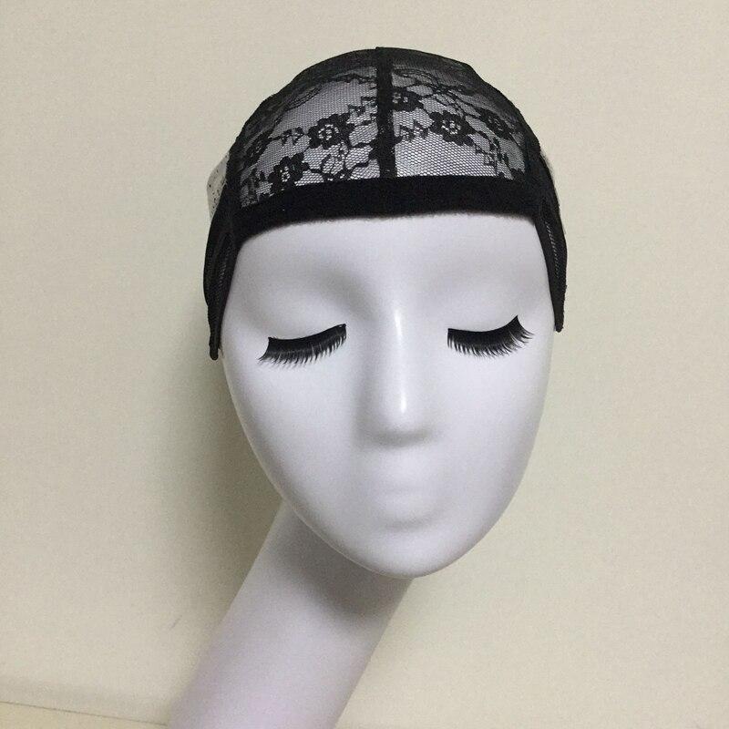 Čipkasto brezrokavno perilo za izdelavo lasulj z nastavljivimi - Nega las in styling