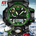 2016 mens watches top brand luxury TTLIFE relojes deportivos Multifunctional Electronic Watch Fashion Men Sports Wristwatches