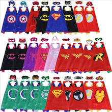 Superman Cloak Cartoon Hero Cloak personalizado al por mayor nuevo doble capa sobrenatural