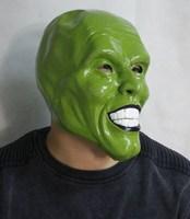 Deluxe Attractive Super Hero Rubber Latex Halloween Costume The Mask Mask