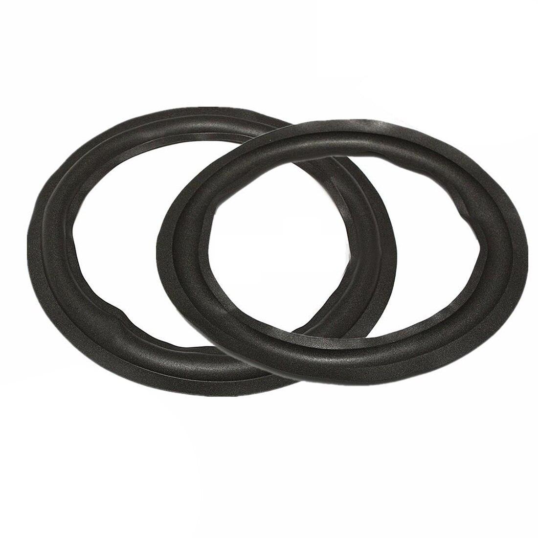 2 шт. черный 12 Динамик из <font><b>Surround</b></font> круг Ремонтный комплект для НЧ Рог