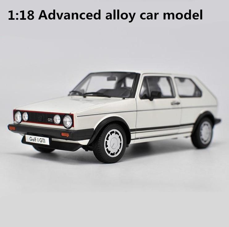 1:18 Advanced alloy car model, high simulation Volkswagen Golf GTI1,metal castings,quali ...