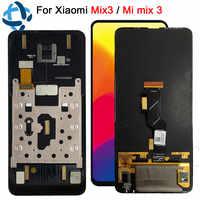 Super Amoled pour Xiao mi mi mi x 3 LCD écran tactile numériseur assemblée avec cadre mi mi x3 remplacement mi mi x3 mi mi x 3 lcd