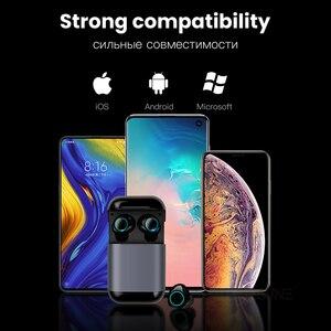 Image 5 - Esvne S7 TWS bluetooth earphone Earbuds Wireless Bluetooth headphone Stereo Headset Bluetooth Earphone With Mic and Charging Box