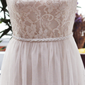 TOPQUEEN S262 Amazing Pearl wedding Belts Real Samples Satin Rhinestones Beading Pearls Bridal Ribbons Sash Wedding Accessory