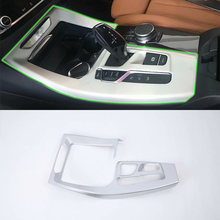 Car Accessories Interior Decoration 1pcs ABS LHD Gear Box Panel Cover Trim For BMW X3 2018 Styling