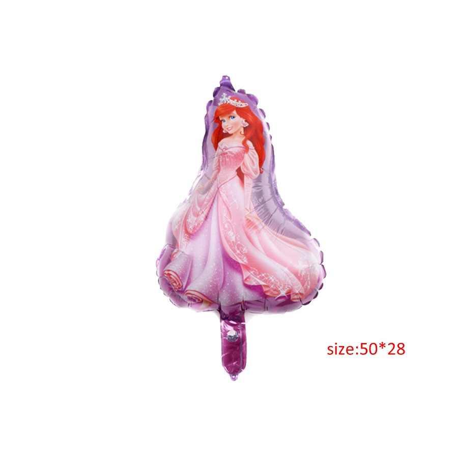 Ariel princess theme บอลลูน eid mubarak ฟอยล์บอลลูนวันเกิดบอลลูนตกแต่งวันเกิด Air บอลลูน party Supplies
