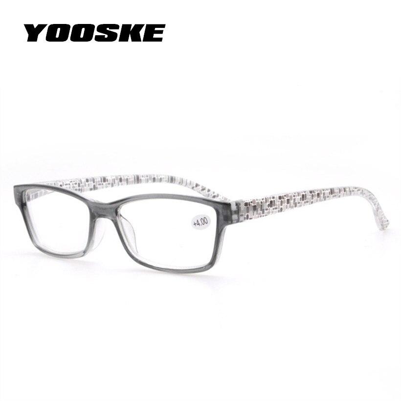 a623f12e28 Detalle Comentarios Preguntas sobre YOOSKE Unbreakable lectura gafas  mujeres hombres anteojos de resina flor colores templos gafas de presbicia  para elder ...