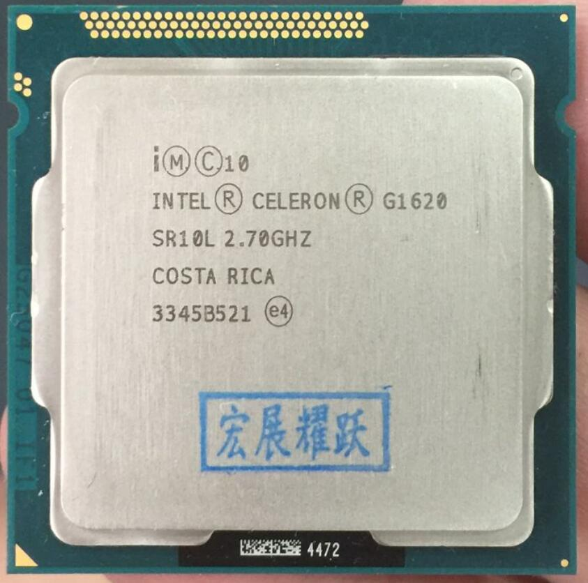 Intel Celeron Processor G1620 PC Computer Desktop CPU (2M Cache, 2.70 GHz) Dual-Core CPU LGA 1155