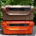 EDC Открытый Большой Профессиональный водонепроницаемый ящик для хранения водонепроницаемый контейнер компрессионное уплотнение с аморти...