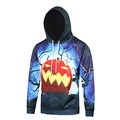 2016 New Arrival 3D Pumkpin Print Men Halloween Hoodies Autumn Funny Pullover Hooides Sweatshirt For Men Plus Size M-XXXL