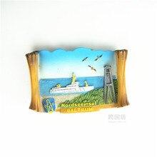 Baltirum tourist souvenir refrigerator stickers