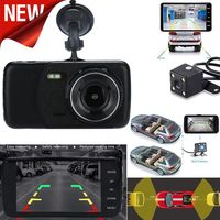 Dual Dash Front And Rear Camera Driving Recorder Cars Loop Recording 24 hour Parking Monitoring Panoramic USB Car Recorder