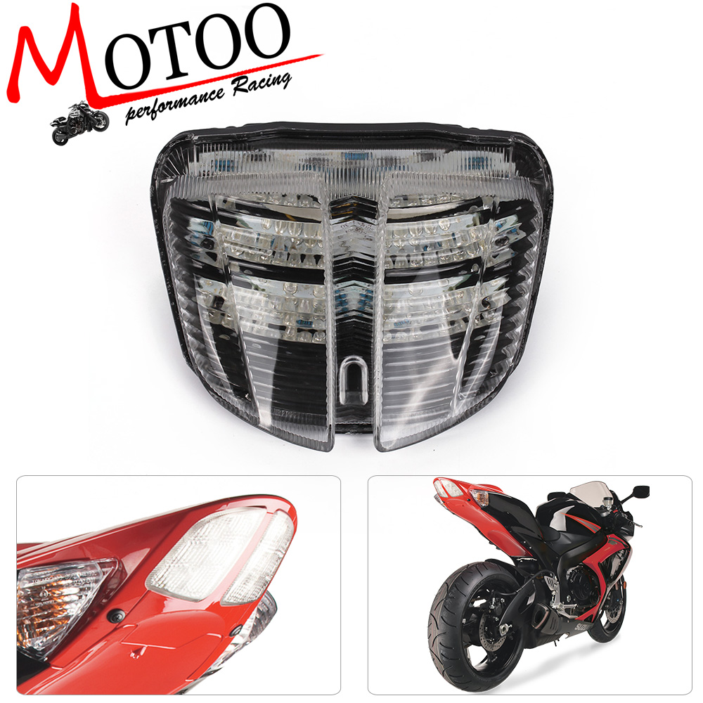Motoo - free shipping Motorcycle Tail Light LED Integrated Signal for SUZUKI GSX-R600 gsxr600 gsxr 600 06-07 K6