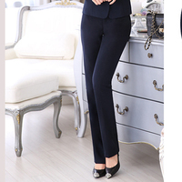 Осень Новый корейский стиль бизнес женская одежда штаны Лидер продаж ПР одежда салон красоты отеля спереди комбинезоны Штаны 8829