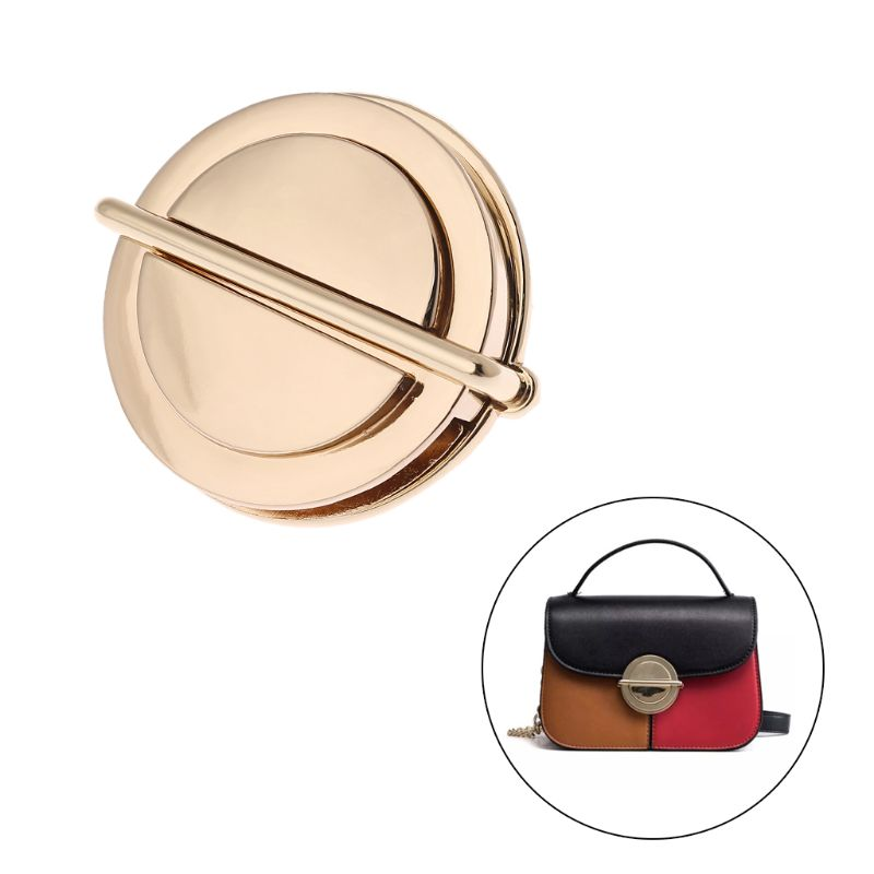 Top Quality Metal Clasp Turn Lock Twist Locks DIY Leather Handbag Shoulder Bag Hardware Accessories THINKTHENDO 2019 New