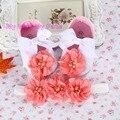Детские перлы Корона Крещение крещение малыша девушка обувь оголовье набор, Девушка Балерина, новая девушка детские тиара ребенок обуви