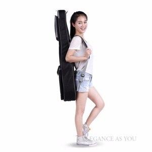 Image 4 - 무료 배송 41 인치 어쿠스틱 기타 가방 36 인치 여행 기타 케이스 43 인치 포크 기타 가방 커버 42 인치 더블 스트랩 기타 상자
