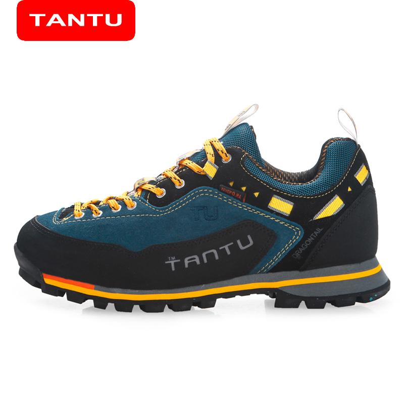 Prix pour TANTU Surface Étanche Camping Marche Escalade Chaussures Hommes Respirant Chaussures de Randonnée En Plein Air Ourdoor montagne randonnée chaussures 8038