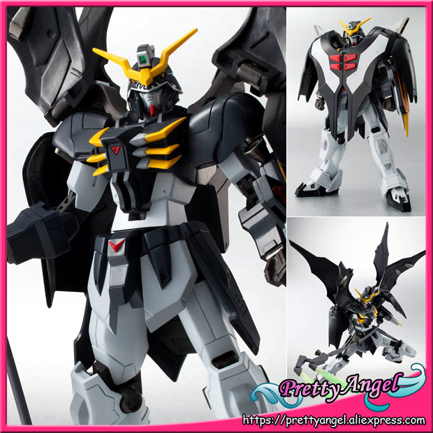 Japan Anime Original Bandai Tamashii Nations Robot Spirits No.151 Gundam W Action Figure - Gundam Deathscythe Hell