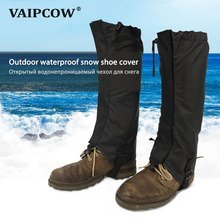 купить VAIPCOW  Leg cover Waterproof Breathable Leggings Outdoor Hiking Hiking Climbing Hunting Trekking Snow Leg Protection Leggings дешево