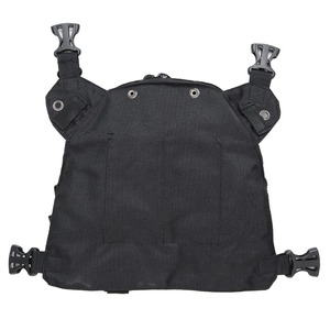 Image 2 - ABBREE Radio Chest Harness Chest Front Pack Pouch Holster Vest Rig for Two Way Radio Walkie Talkie(Rescue Essentials)