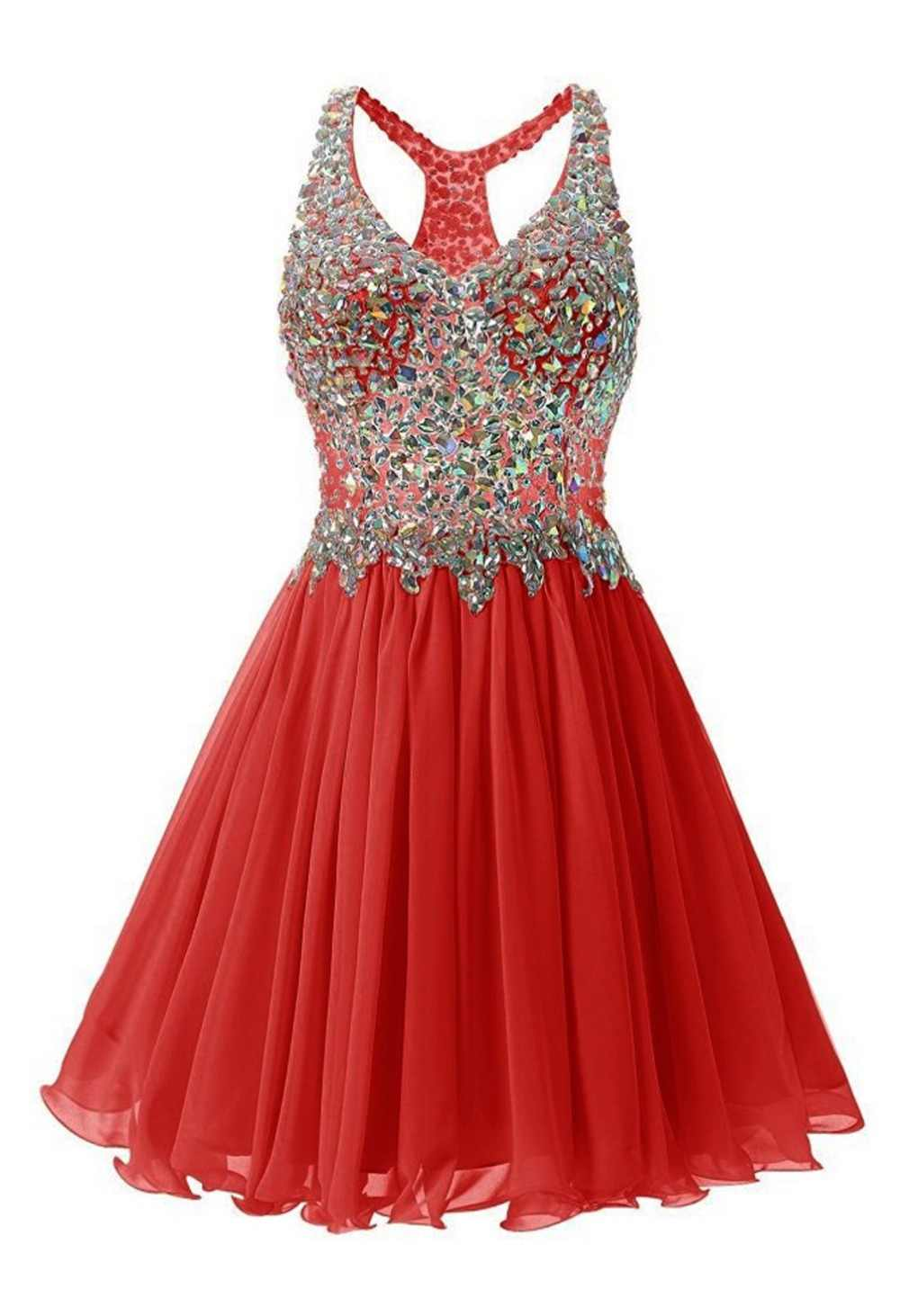 409848742ea7 Red Short Semi Prom Dresses - Barrier Surveillance