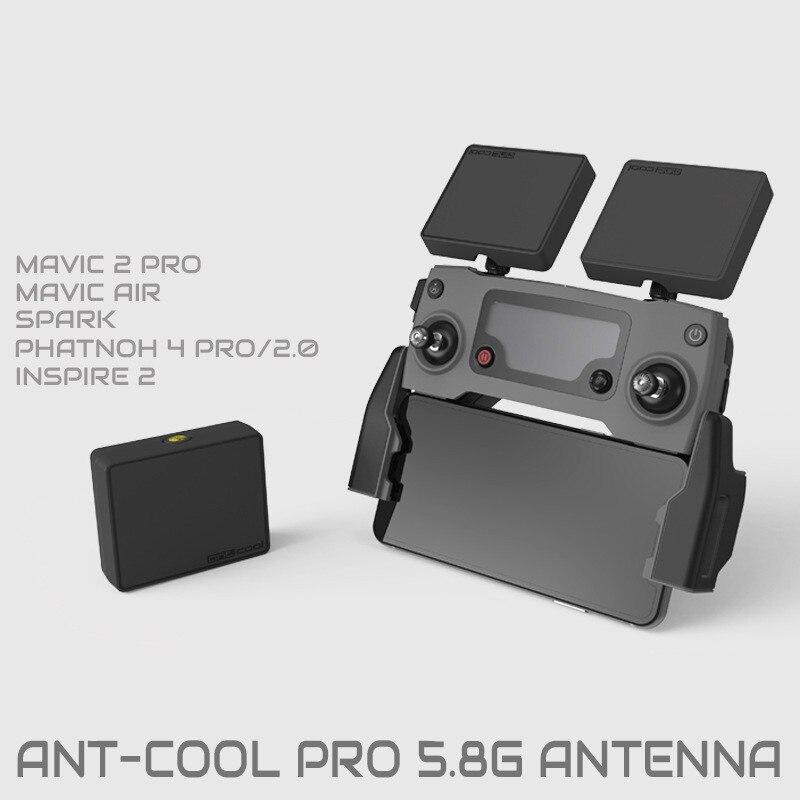DJI Mavic 2 pro spark Phantom Antenna WiFi Signal Range Booster Extender 17DBI 5.8GHz Circular Polarized for drone accessoriesDJI Mavic 2 pro spark Phantom Antenna WiFi Signal Range Booster Extender 17DBI 5.8GHz Circular Polarized for drone accessories