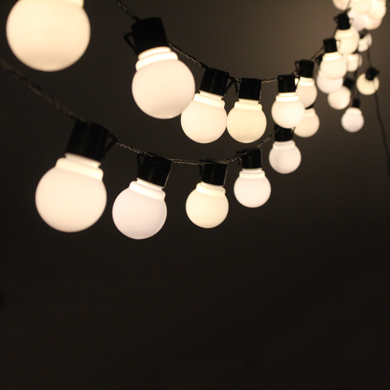 Globe String Lights Hiasan Krismas 10M 38 yang diketuai Bulb 220 / - Pencahayaan perayaan - Foto 2