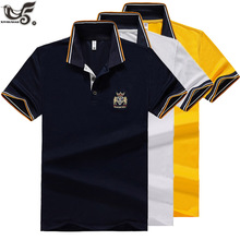 New Brand POLO shirt Men boutique embroidery breathable Short Sleeve C