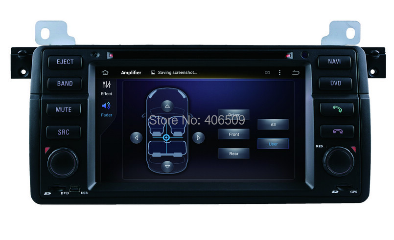 Android 7.1 Car DVD Player for BMW 3 Series E46 M3 with GPS ...