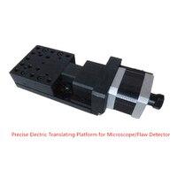 New High Precise Electric Translating Platform Cross Roller Motorized Linear Stage Linear Guide Travel Range 15mm