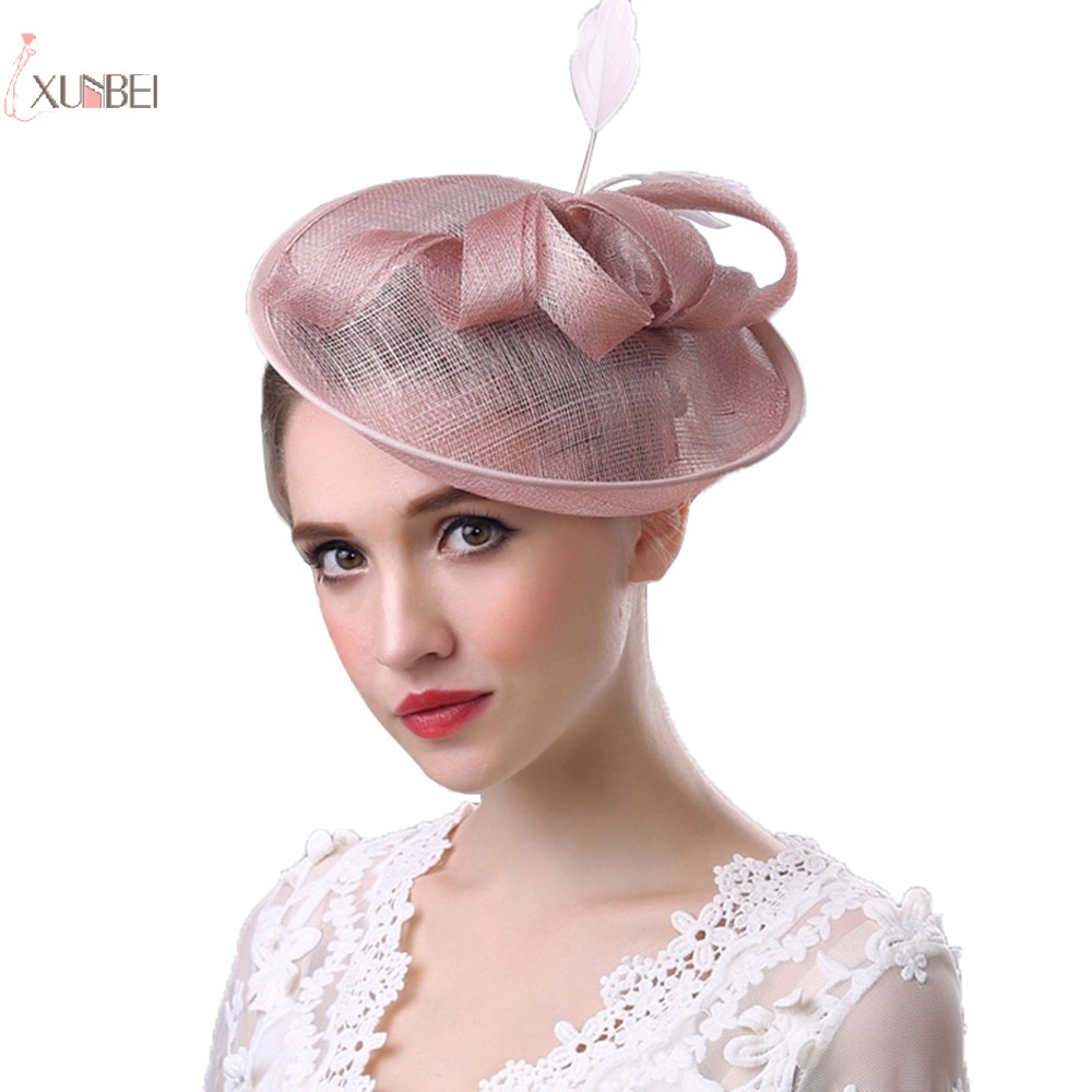Women Fascinator Tulle Elegant Bide Wedding Hat Bridal Headwear Headpiece Wedding Accessories